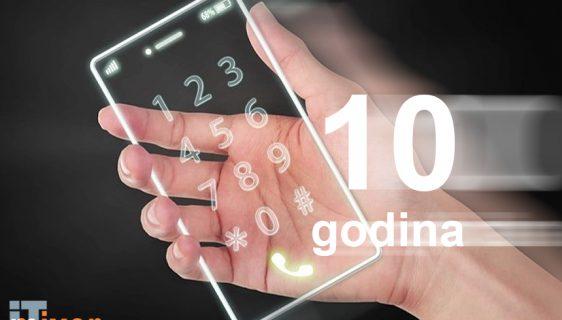 Pogledajte u kom bi se pravcu mogli razvijati pametni telefoni za 10 godina