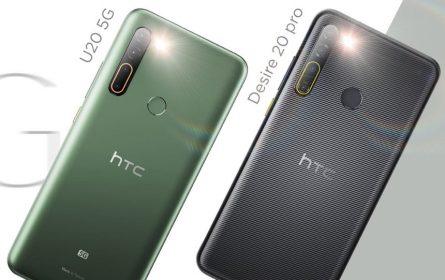 HTC zvanično predstavio U20 5G i Desire 20 Pro