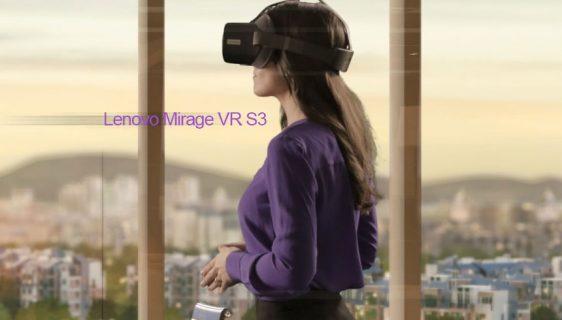 Lenovo Mirage VR S3 - kombinacija slušalica i naočara za kompanije