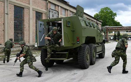 Vojska Srbije predstavila domaće oklopnog borbenog vozila M-20 MRAP 6x6