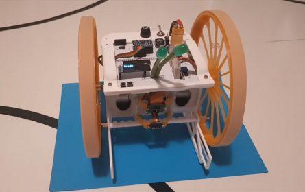 Raspberry Pi i Android robot Ser300
