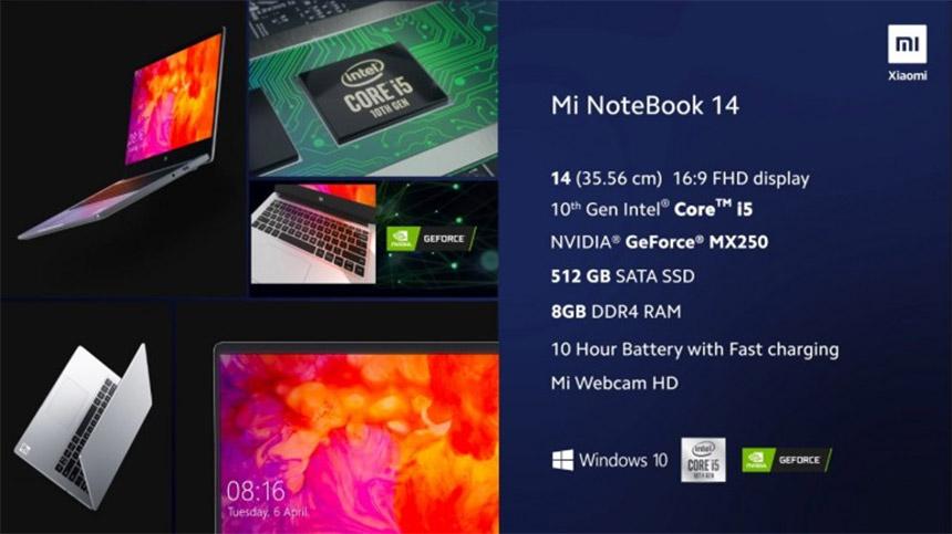 Xiaomi Mi NoteBook 14 osnovni model