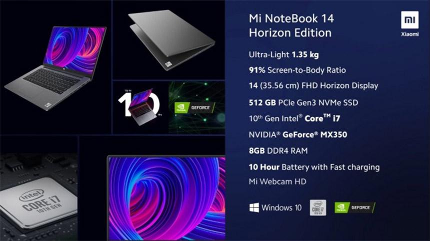 Xiaomi Mi NoteBook 14 Horizon Edition