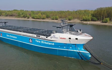 Yara Birkeland - prvi autonomni i električni kontejnerski brod na svijetu