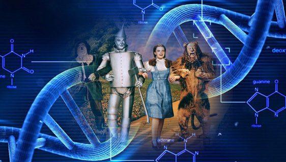 Čarobnjaka iz Oza zapisan u jedan DNK molekul
