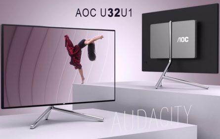 AOC U32U1 - premium monitor iz serije Porsche Desing