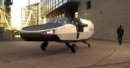 Projekat CityHawk: električni leteći automobil na vodonik