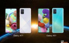 Galaxy A51 i A71 ažuriranjem dobijaju neke Galaxy S20 karakteristike