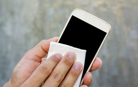 Higijena - čišćenje telefona
