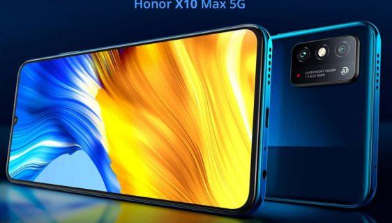 Predstavljen Honor X10 Max 5G - ogromni smartfon za 269 dolara