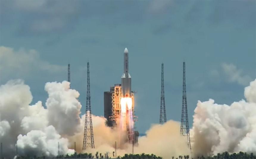Kina lansirala rover na Mars