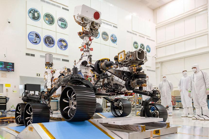 Rover Perseverance spreman za lansiranju na Mars