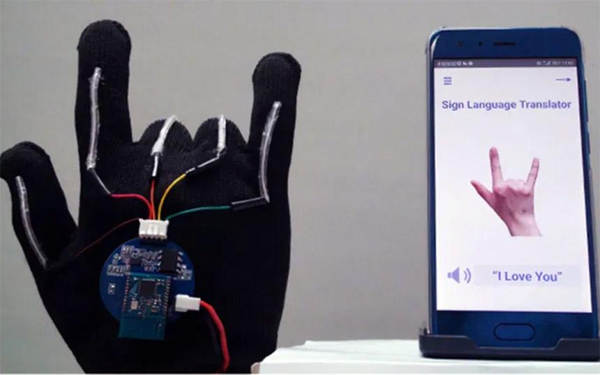 Rukavica koja prevodi znakovni jezik