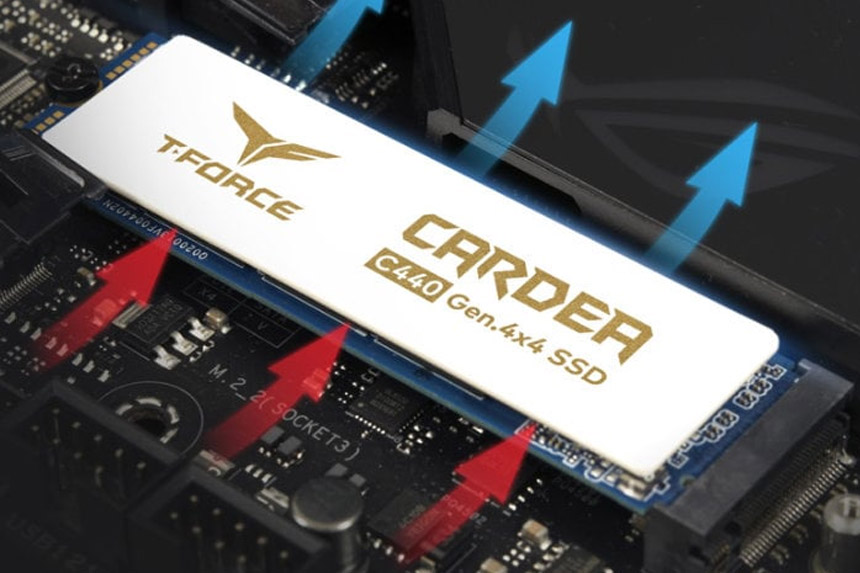T-FORCE CARDEA Ceramic C440 - gejmerski SSD s keramičkim hladnjakom