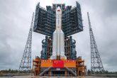 "Kineska raketa-nosač ""Dugi marš-5"" (Foto: Guo Wenbin/Xinhua)"