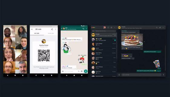 WhatsApp dodaje animirane stikere, QR kodove i tamni režim za web