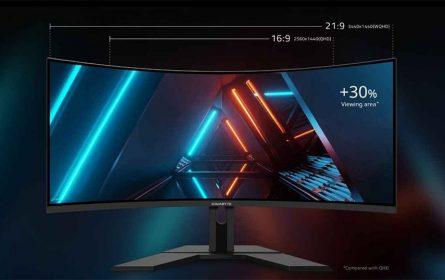 Gigabyte G34WQC 34-inčni gejming monitor