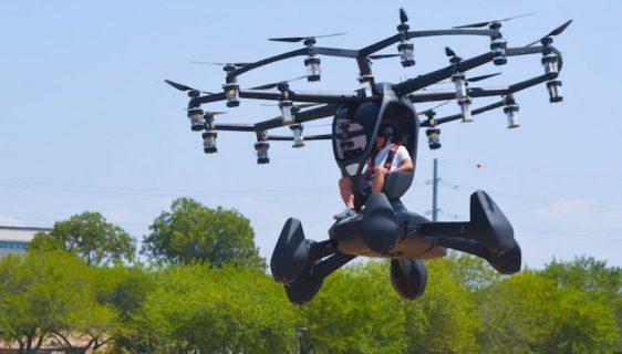"Američko vazduhoplovstvo predstavilo ""Hexa"", prototip letećeg automobila"