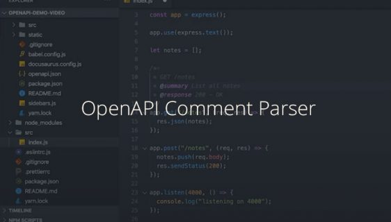 OpenAPI Comment Parser