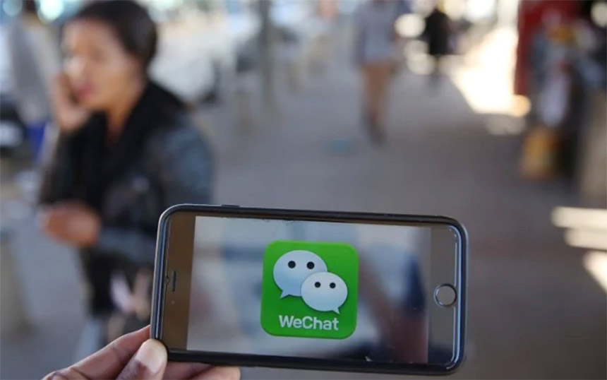 WeChat iPhone