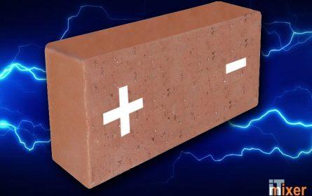 Naučnici napravili bateriju od cigle