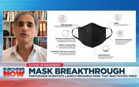 Napravljena maska koja uništava virus korona