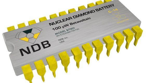 nanodijamantska baterija