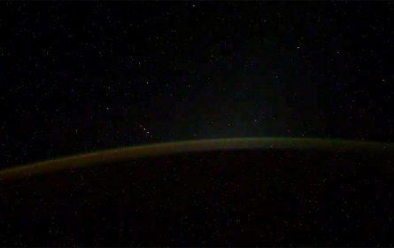 Misteriozni snimak ruskog kosmonauta Ivana Vagnera (Screenshot)