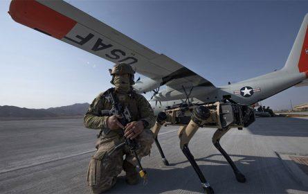 Psi roboti u američkim vojnim bazama