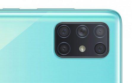 Galaxy A72 - pet kamera sa zadnje strane telefona