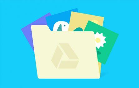 Google disk otpad - ilustracija