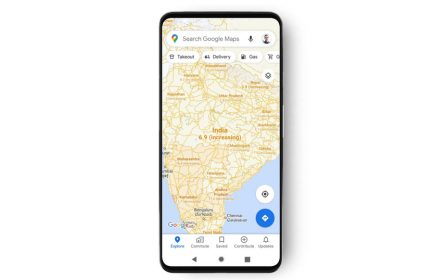 Google mape COVID-19 statistika
