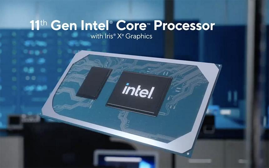 Intel Tiger Lake 11 generacija procesora