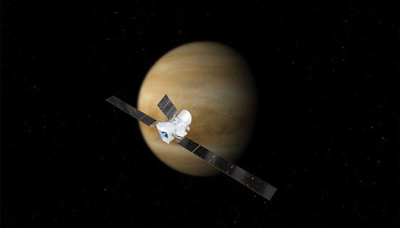 Svemirska sonda Bepi Kolombo - Venera (Foto: ESA)