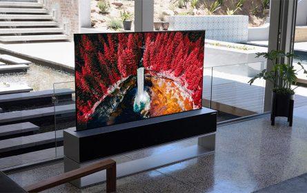 LG Signature OLED R TV