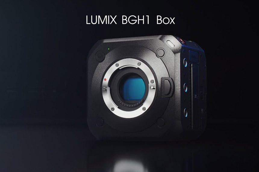 LUMIX BGH1 4K Box kamera bez ogledala neobičnog dizajna