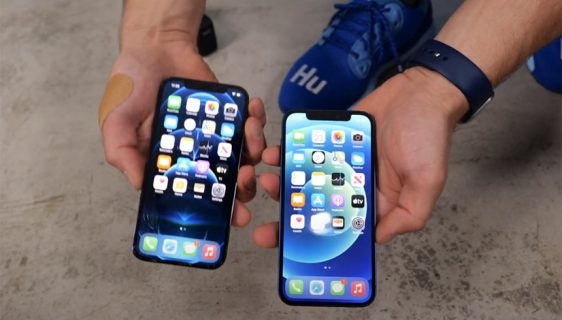 iPhone 12 i iPhone 12 Pro test na padove