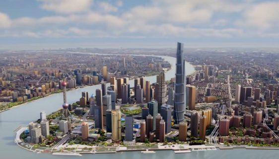 Pogledajte kako izgleda virtuelni klon Šangaja