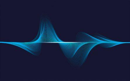 Zvuk - amplituda (ilustracija)