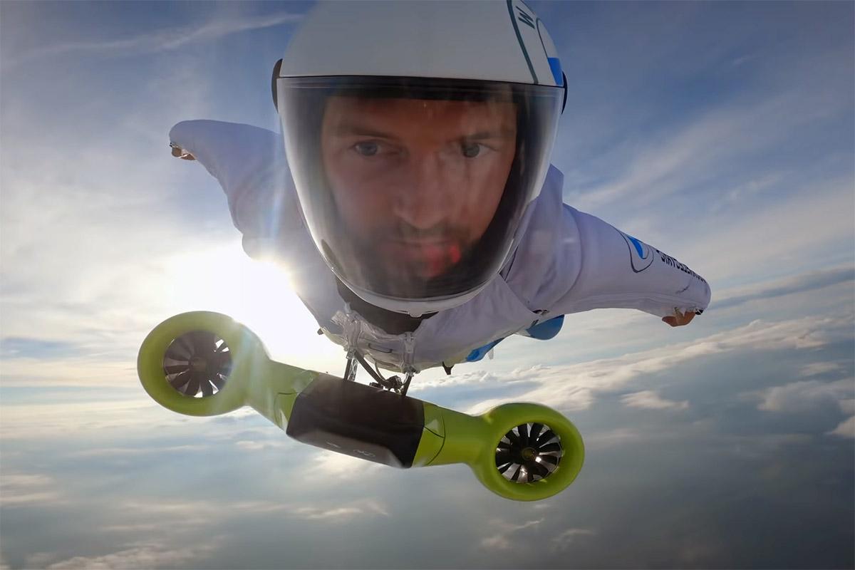 Austrijski wingsuit letač uspio da poleti