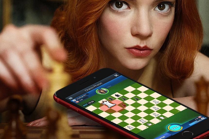 Zbog serije Damin gambit porasla tražnja mobilnih aplikacija za šah