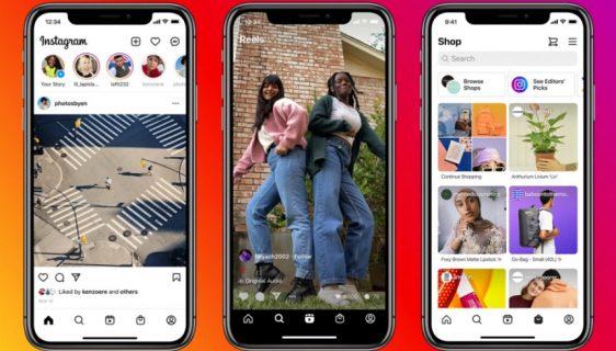 Dvije nove kartice na Instagramu: Reels i Shop
