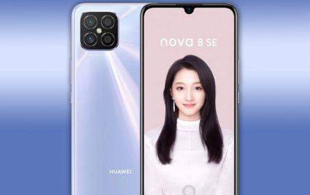 Predstavljen Huawei nova 8 SE pametni telefon