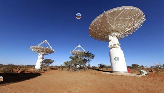 Australijski radio teleskop - ASKAP