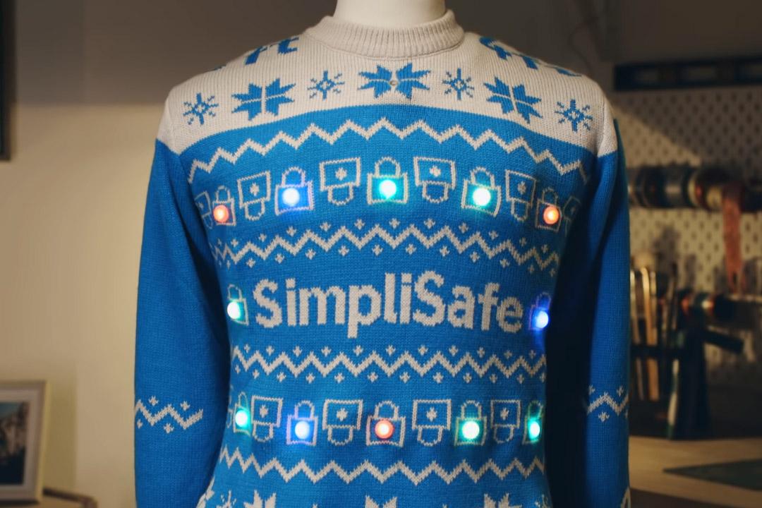 Kompanija SimpleSafe osmislila džemper za socijalno distanciranje