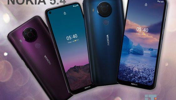 Predstavljena Nokia 5.4 - Snapdragon 662 čipset, cijena 189 evra