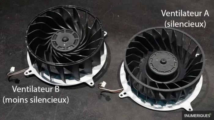Sony PS5 kozola - ventilatori