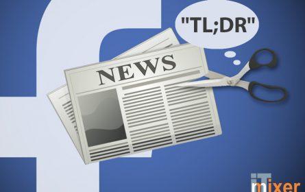 """Facebook-ov """"TL;DR"""" AI alat skraćivaće duge tekstove"""