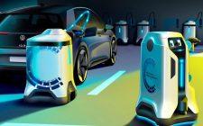 Volkswagen roboti za autonomno punjenje električnih automobila