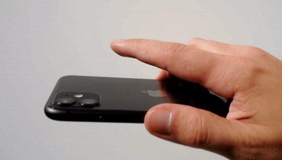 Apple ugradio skrivenu tipku na iPhone, dodir po poleđini
